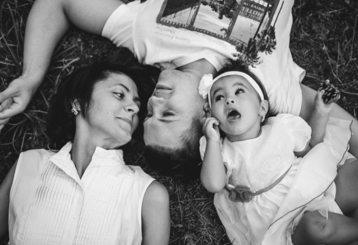 Catalin, Dana and Little Carina