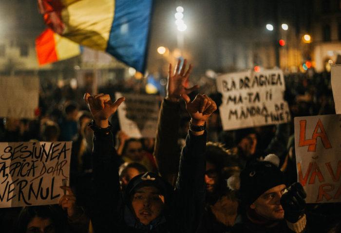 #rezist // întâi februarie două mii șaptișpe // Cluj-Napoca