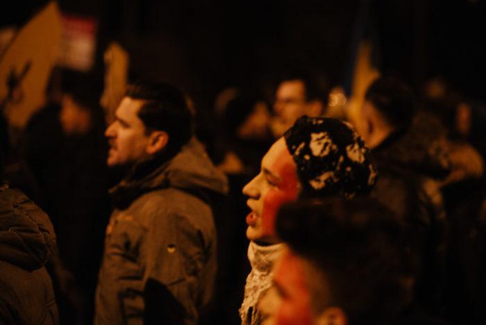 #rezist // doi februarie două mii șaptișpe // Cluj-Napoca