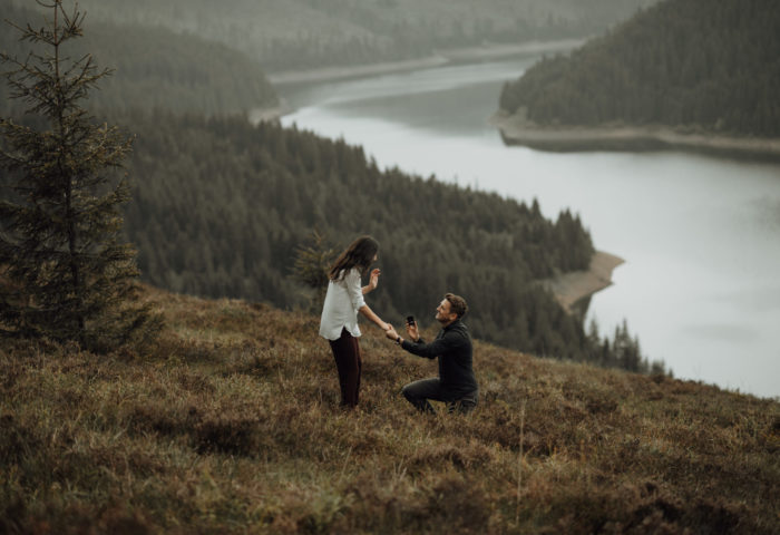 a promise of forever // beni + denisa
