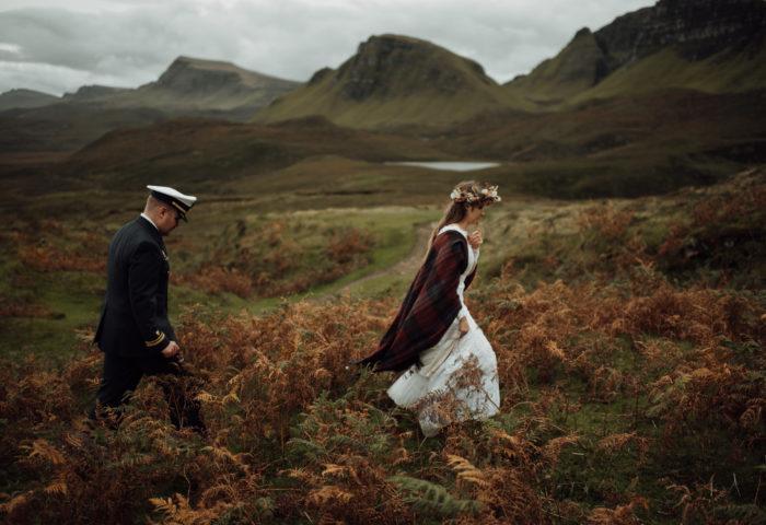 meredith + sam // isle of skye elopement