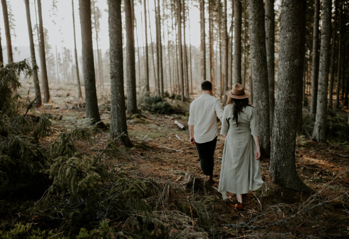 Anah + Adi // engagement session, cluj county