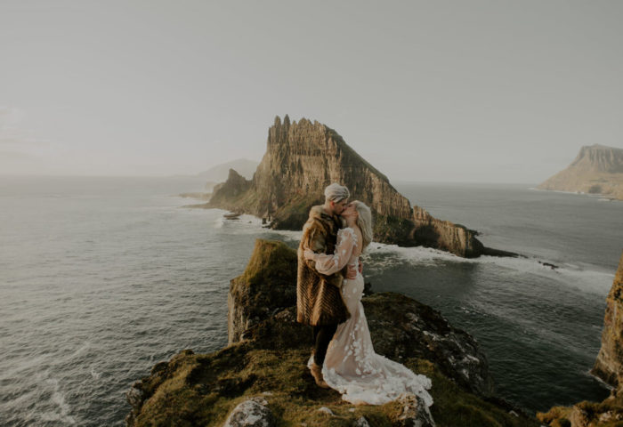 ramona + tomas // wedding day + faroe islands elopement
